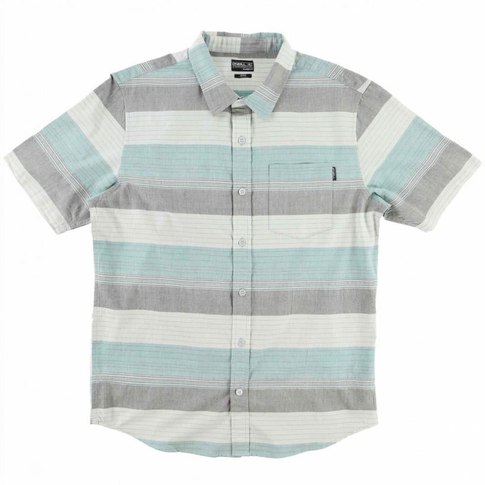 O'NEILL Guys' Rhett Short-Sleeve Shirt - DCH-ASPHALT