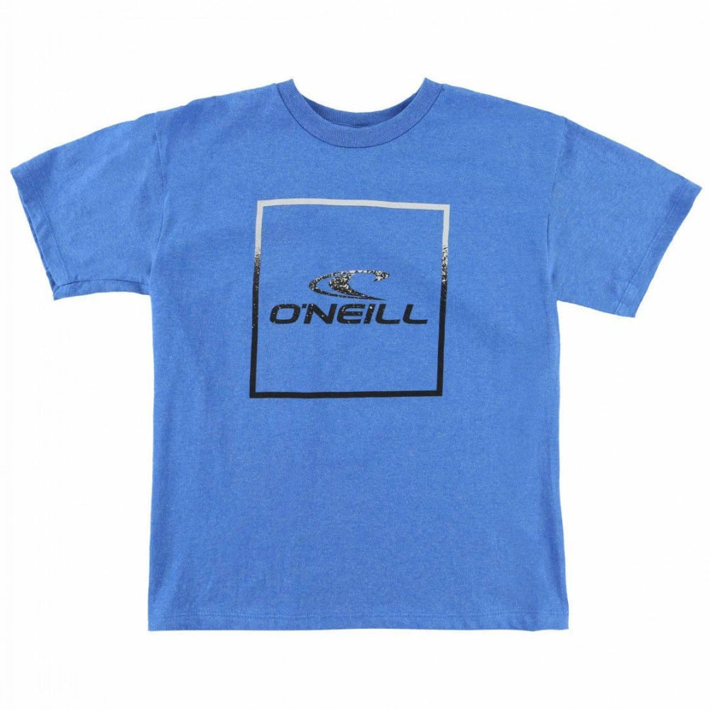 O'NEILL Boys' Boxed Short-Sleeve Tee - RYL-HTR ROYAL BLUE