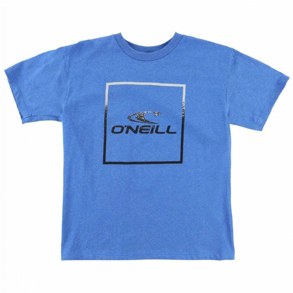O'NEILL Boys' Boxed Short-Sleeve Tee - RYL-HTR ROYAL BLUE