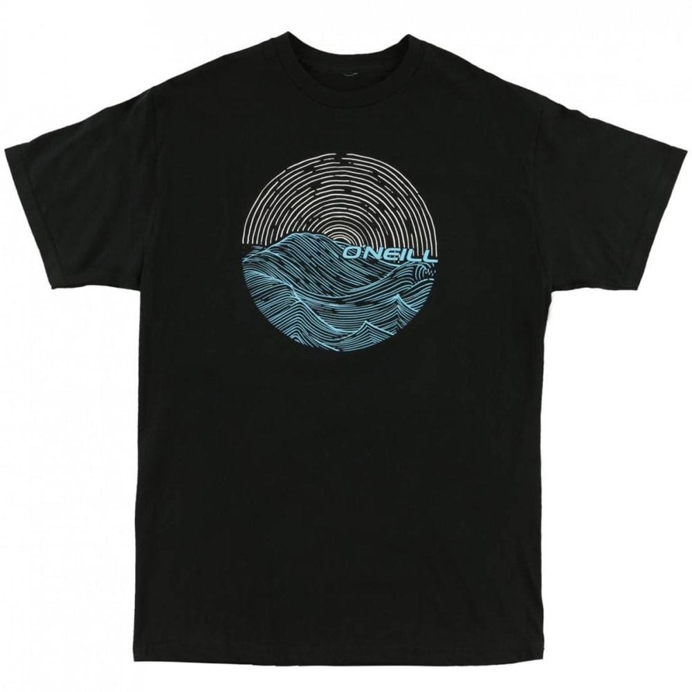 O'NEILL Men's Currents Graphic Tee - BLK-BLACK