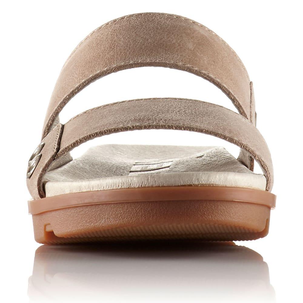 SOREL Women's Torpeda II Slide Sandals, Sahara/Fossil - SAHARA/FOSSIL