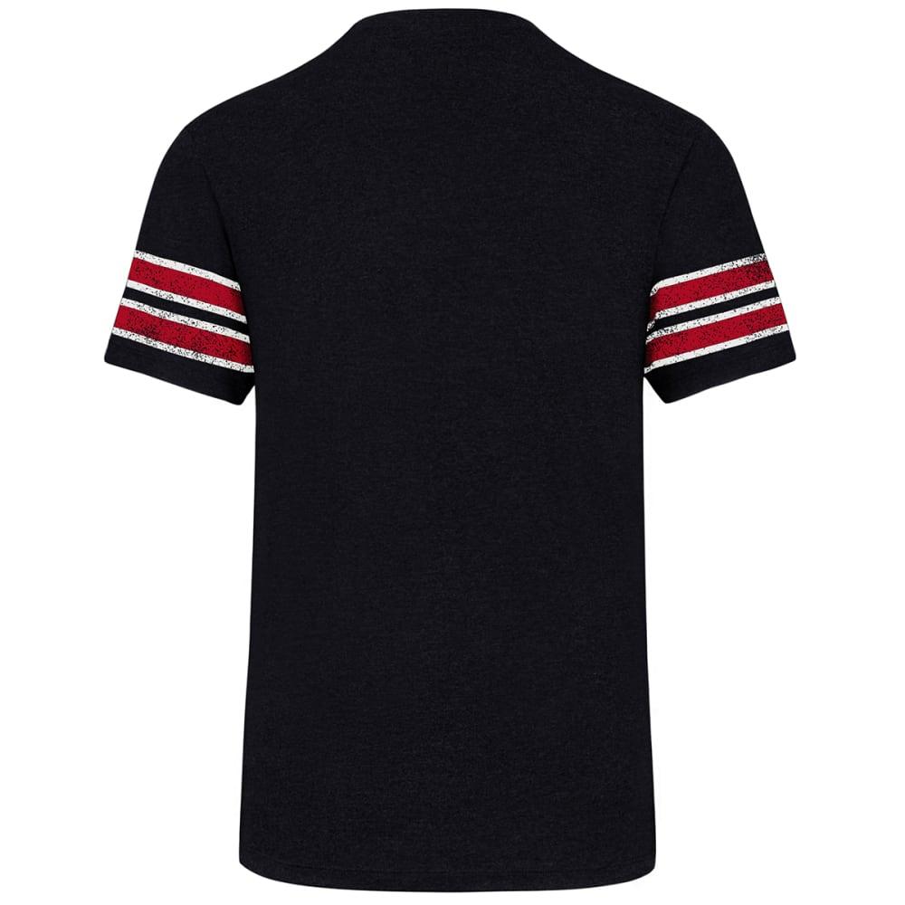 BOSTON RED SOX Men's Knockaround '47 Stripe Short-Sleeve Tee - NAVY