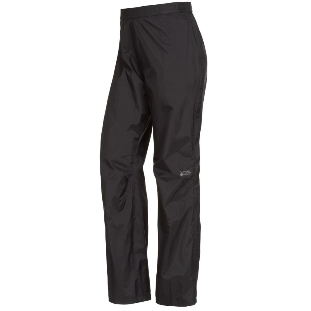 EMS Women's Thunderhead Full-Zip Rain Pants - BLACK