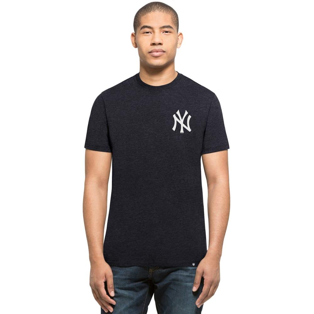NEW YORK YANKEES Men's '47 Backer Two-Sided Short-Sleeve Tee - NAVY