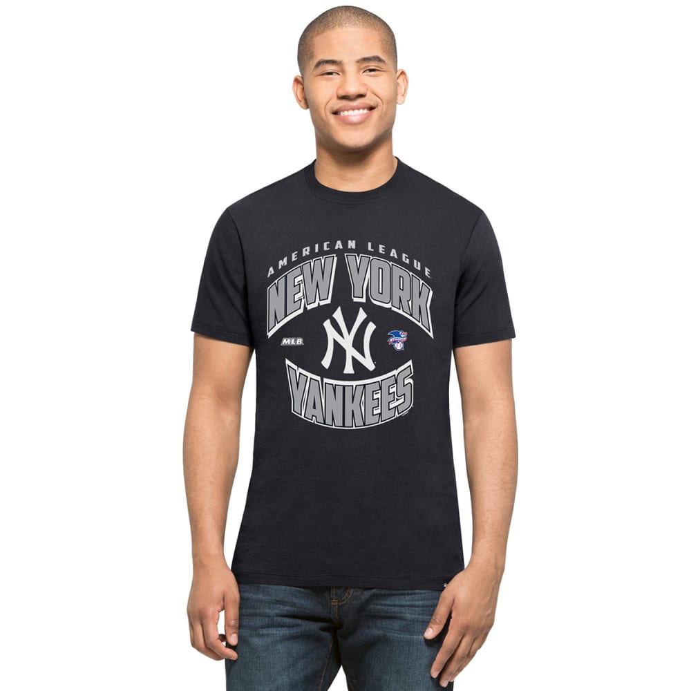 NEW YORK YANKEES Men's '47 Diamond King Splitter Short-Sleeve Tee - NAVY