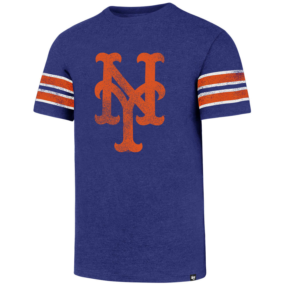 NEW YORK METS Men's Knockaround '47 Stripe Short-Sleeve Tee - ROYAL BLUE