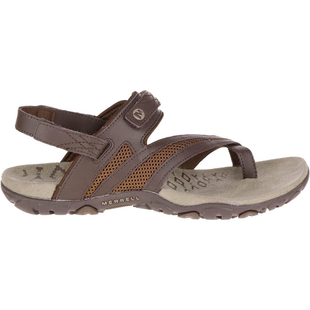 MERRELL Women's Sandspur Delta Shift Sandals - BRACKEN