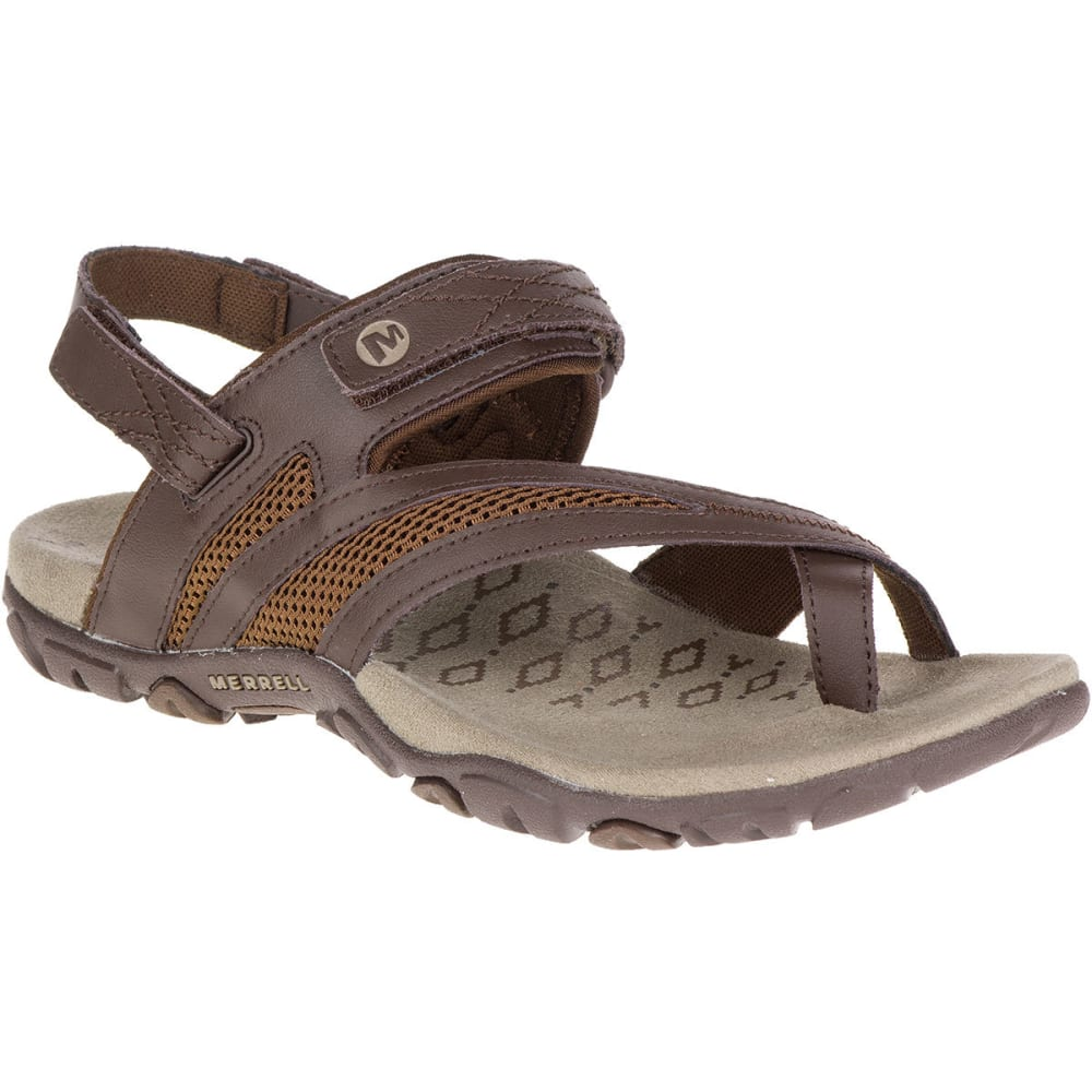 MERRELL Women's Sandspur Delta Shift Sandals - BRACKEN