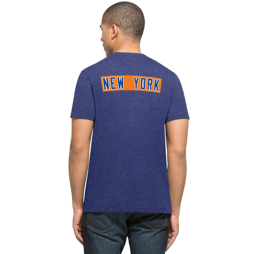 NEW YORK METS Men's '47 Backer Two-Sided Short-Sleeve Tee - ROYAL BLUE