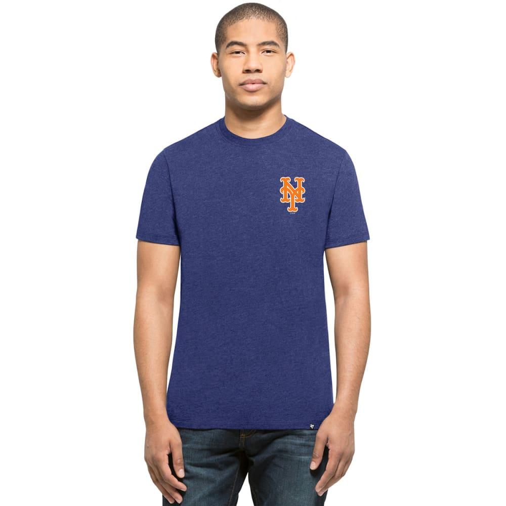 NEW YORK METS Men's '47 Backer Two-Sided Short-Sleeve Tee - ROYAL BLUE