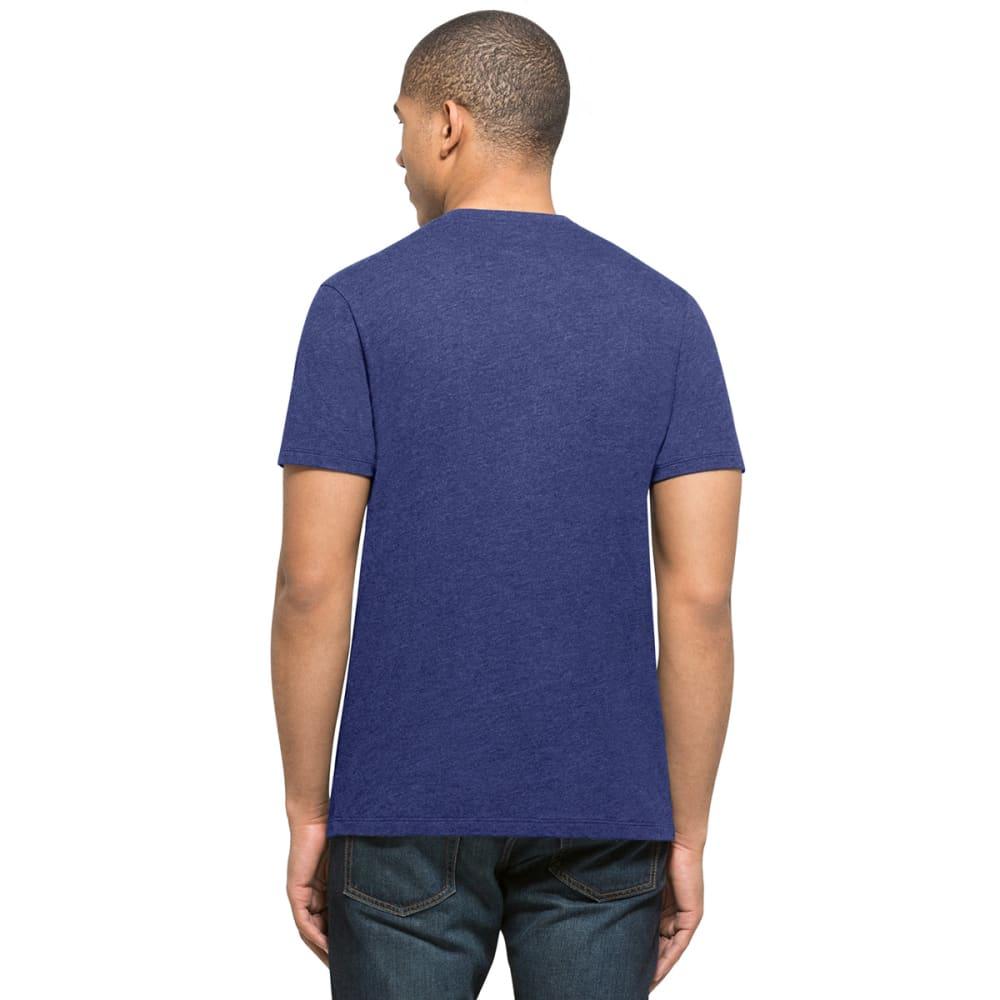 NEW YORK METS Men's '47 Club Logo Short-Sleeve Tee - ROYAL BLUE