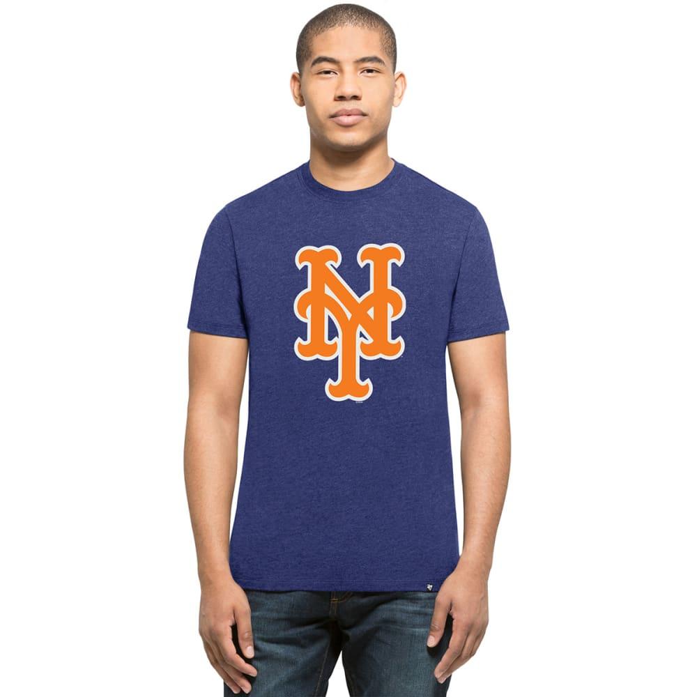 NEW YORK METS Men's '47 Club Logo Short-Sleeve Tee M