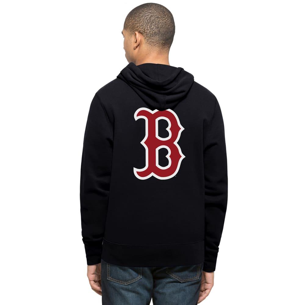 BOSTON RED SOX Men's '47 MVP Headline Pullover Hoodie - NAVY