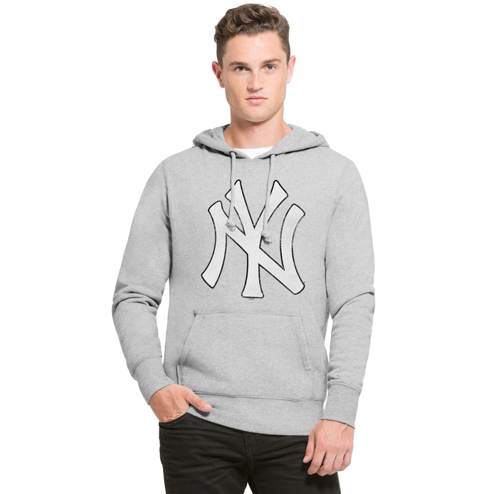 NEW YORK YANKEES Men's Knockaround '47 Headline Pullover Hoodie - GREY