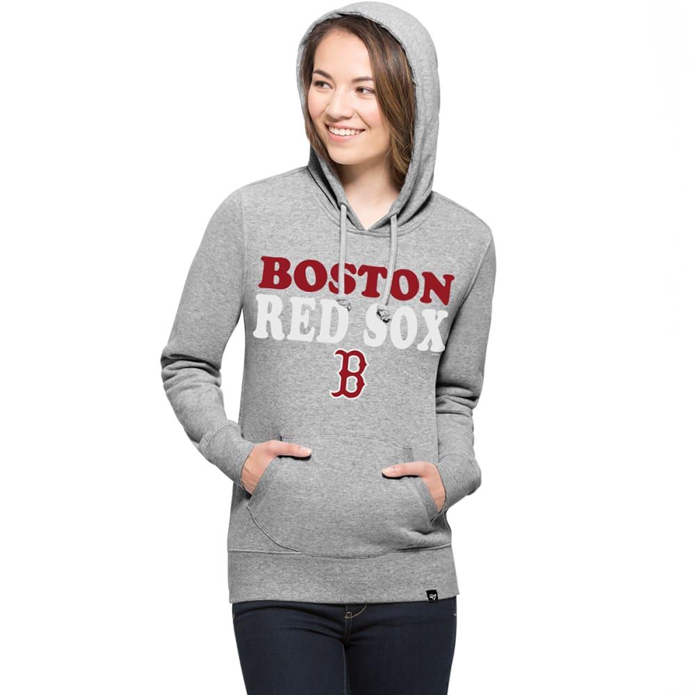 BOSTON RED SOX Women's '47 Headline Pullover Fleece Hoodie - GREY