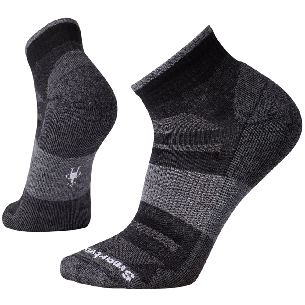 SMARTWOOL Men's Outdoor Advanced Light Mini Socks - CHARCOAL-003
