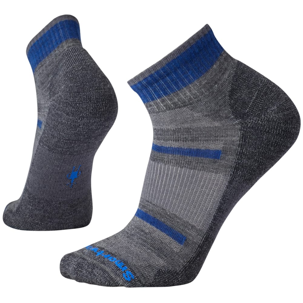 SMARTWOOL Men's Outdoor Advanced Light Mini Socks - MED GRAY-052