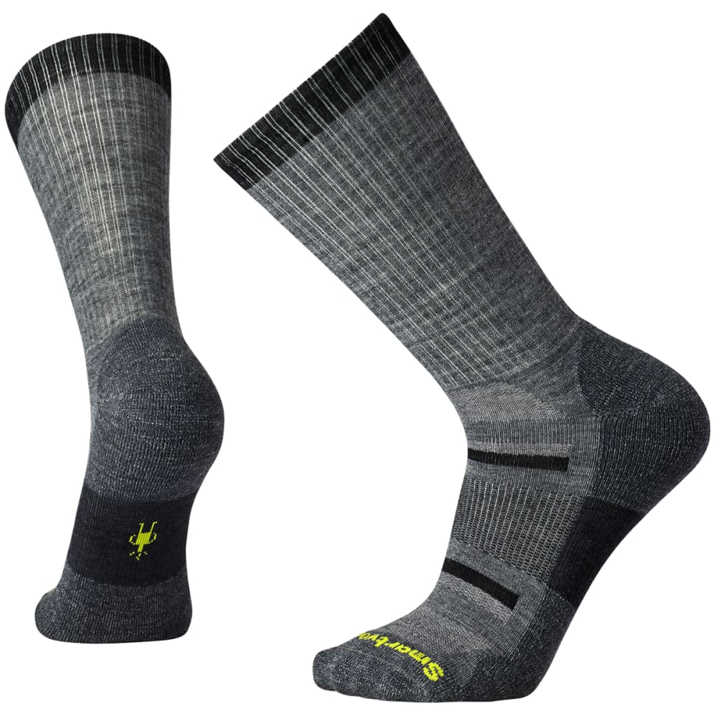 SMARTWOOL Men's Outdoor Advanced Light Crew Socks - MED GREY-052
