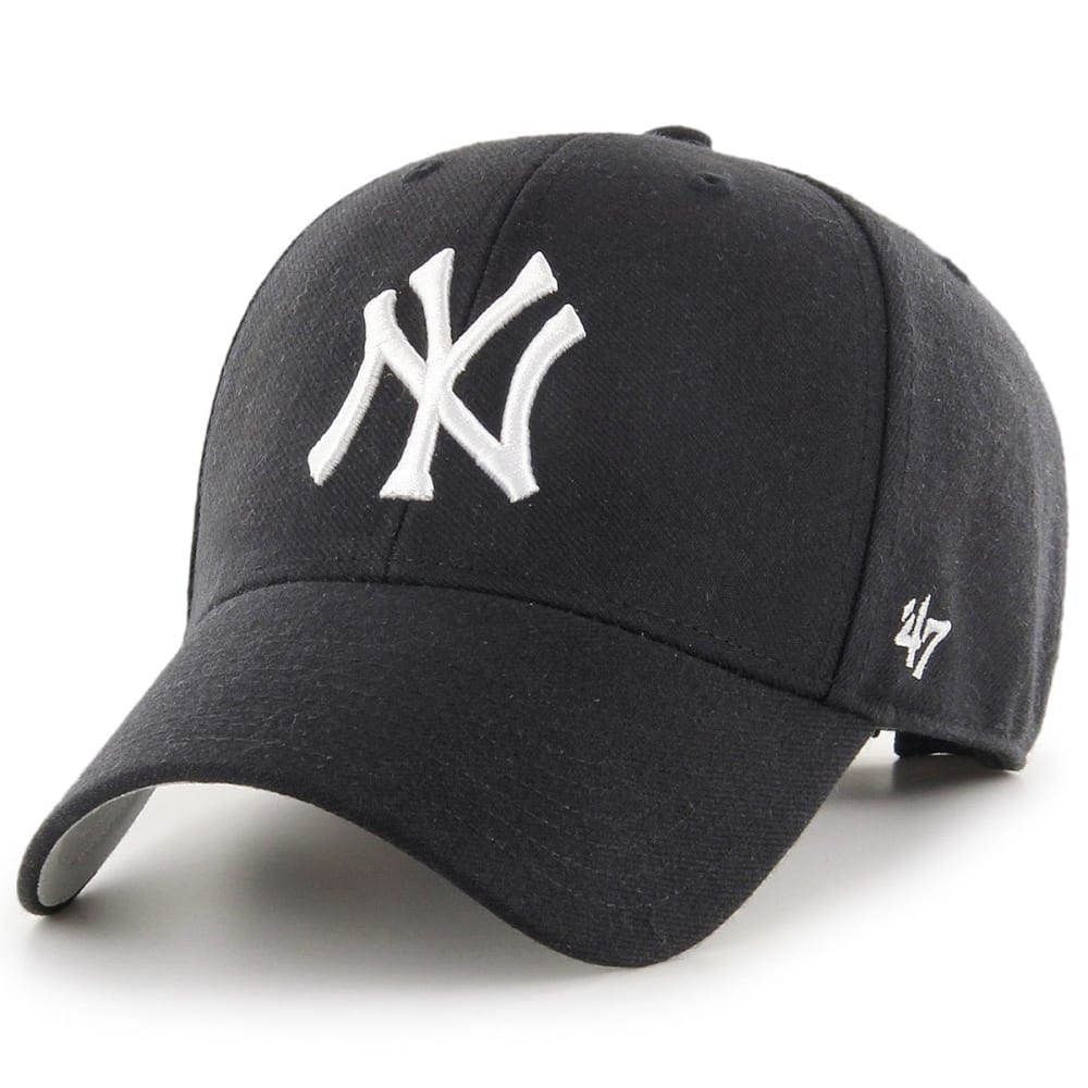 NEW YORK YANKEES Men's '47 MVP Adjustable Cap - BLACK