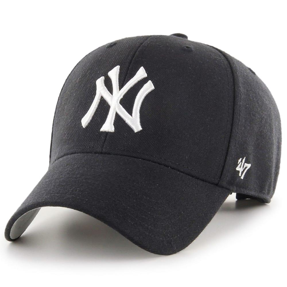 NEW YORK YANKEES Men's '47 MVP Adjustable Cap - BLACK
