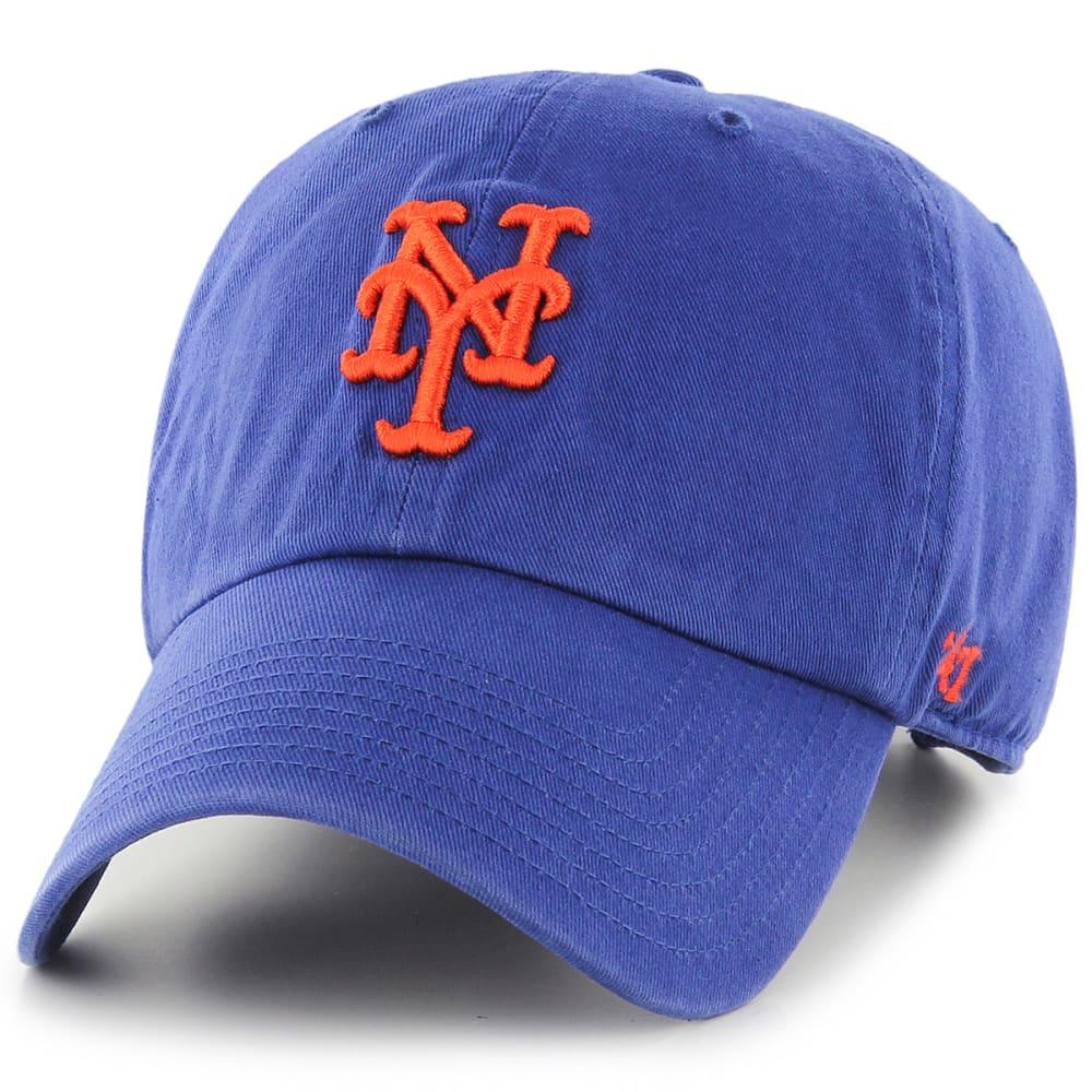NEW YORK METS Men's '47 Clean Up Adjustable Hat - ROYAL BLUE