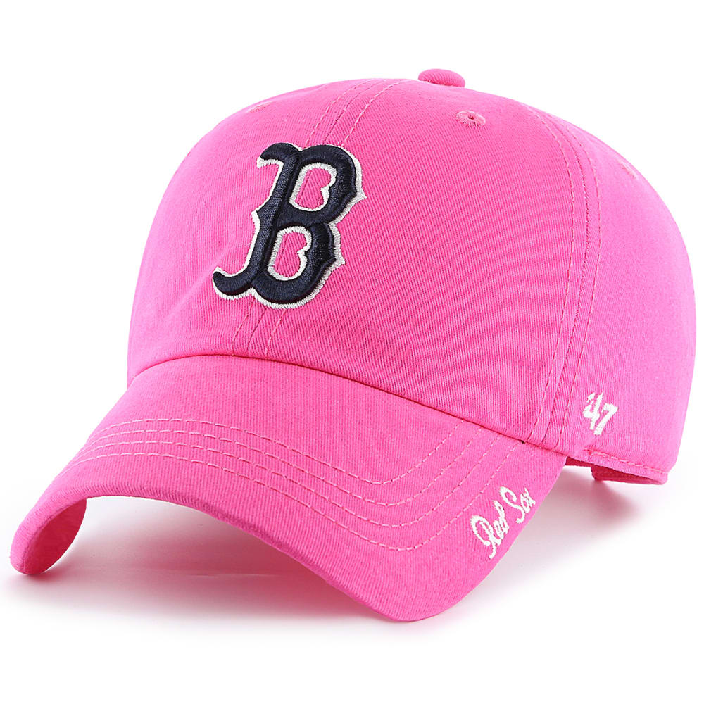 BOSTON RED SOX Women's Miata '47 Clean Up Adjustable Hat ONE SIZE