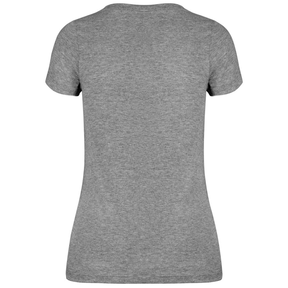 NEW YORK YANKEES Women's '47 Ultra Clutch V-Neck Short-Sleeve Tee - GREY