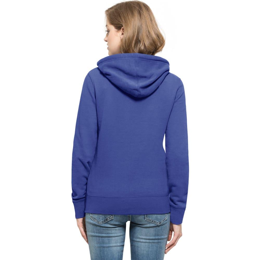 NEW YORK METS Women's '47 Headline Pullover Fleece Hoodie - ROYAL BLUE