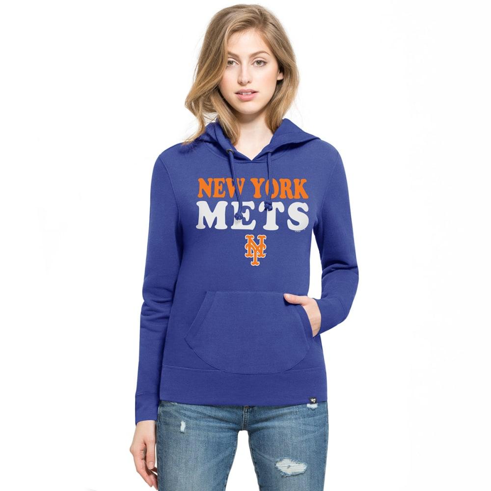 NEW YORK METS Women's '47 Headline Pullover Fleece Hoodie S