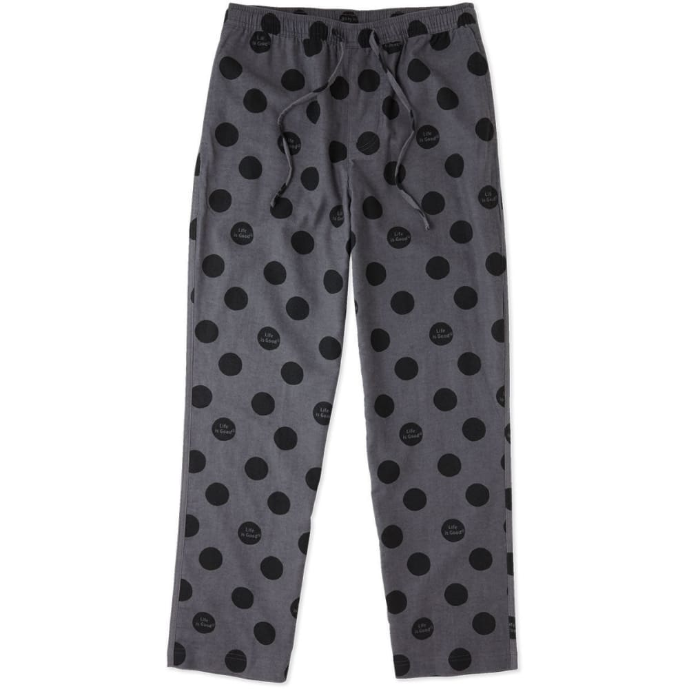 LIFE IS GOOD Men's Sleep Pants - SLATE GRAY
