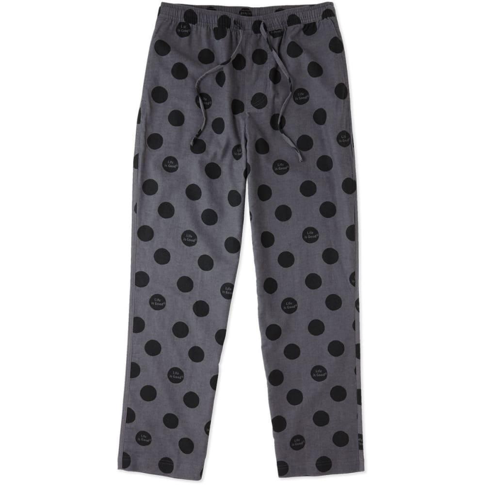 LIFE IS GOOD Men's Sleep Pants - SLATE GRAY