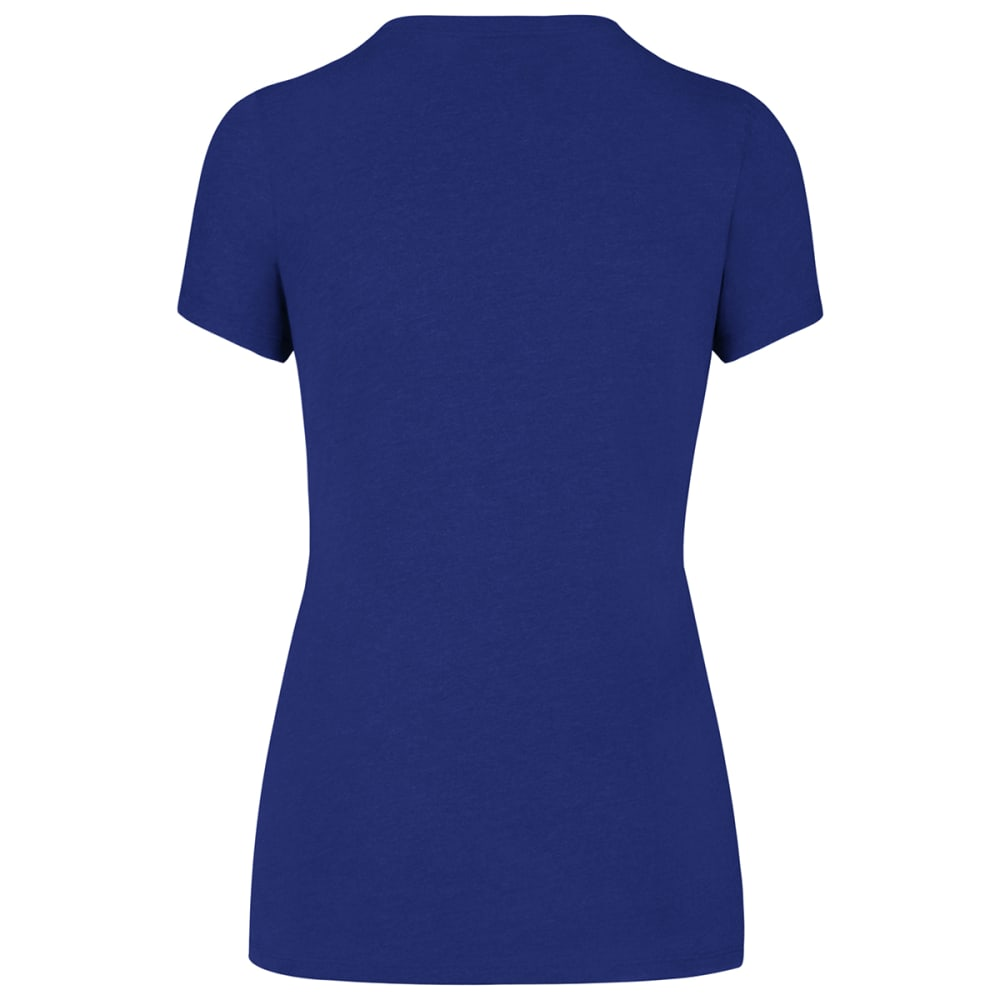 NEW YORK METS Women's Knockaround '47 Club Scoop-Neck Short-Sleeve Tee - ROYAL BLUE