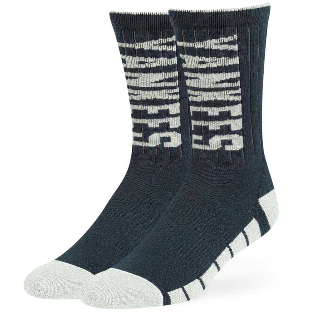 NEW YORK YANKEES '47 Desmond Crew Socks - NAVY