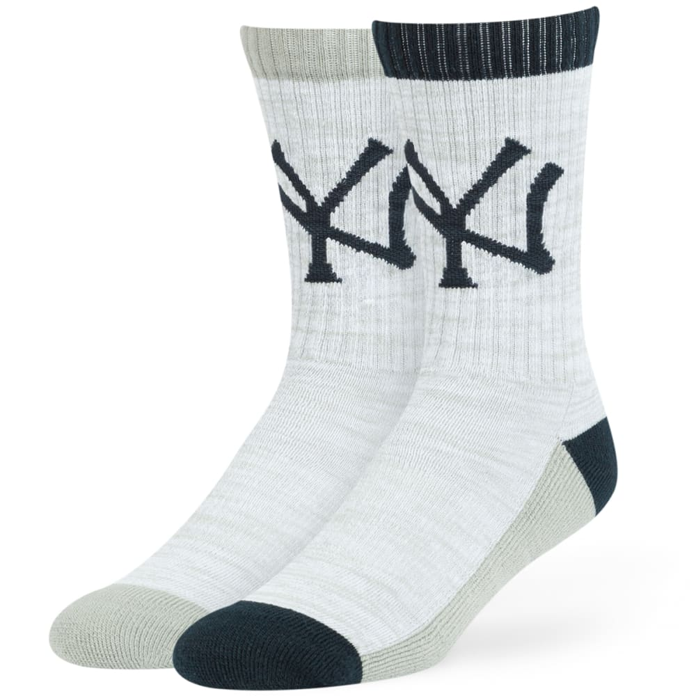 NEW YORK YANKEES '47 Thatcher Crew Socks - GREY
