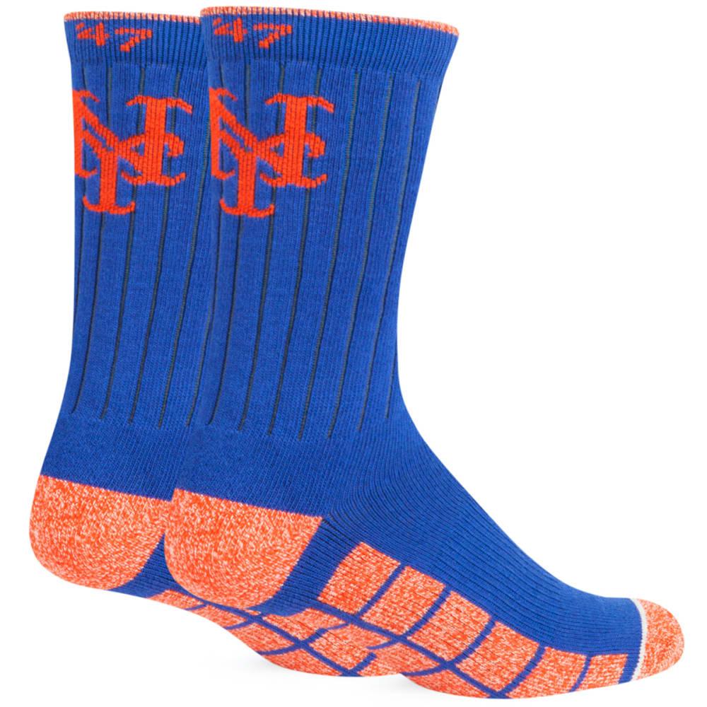 NEW YORK METS '47 Desmond Crew Socks - ROYAL BLUE