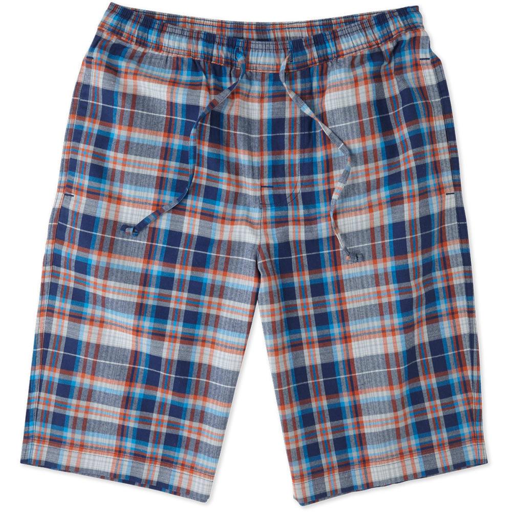 LIFE IS GOOD Men's Plaid Sleep Shorts - PLAID