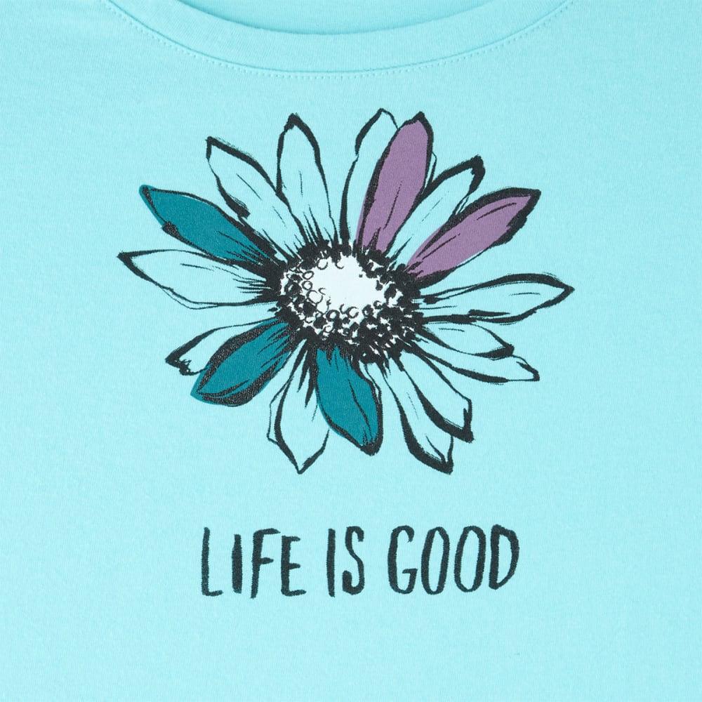 LIFE IS GOOD Women's Daisy Snuggle Up Sleep Tee - FRESH BLUE