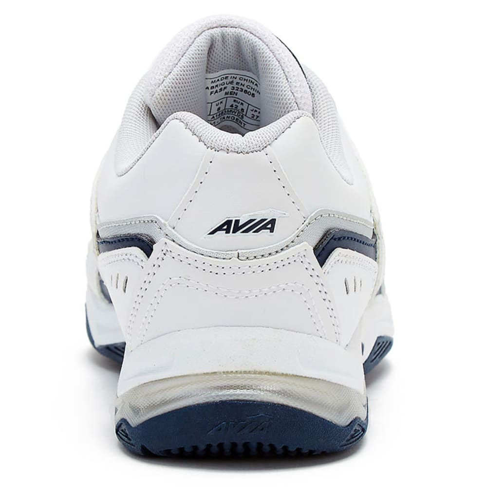 AVIA Men's Avi-Tangent Training Shoes, Wide - WHITE-WIDE