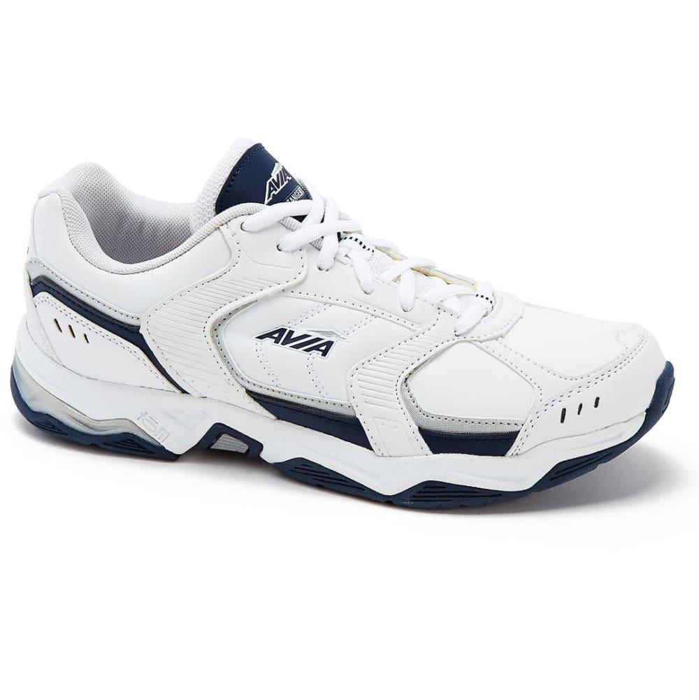 Avia Men's Avi-Tangent Training Shoes, Wide - White, 9