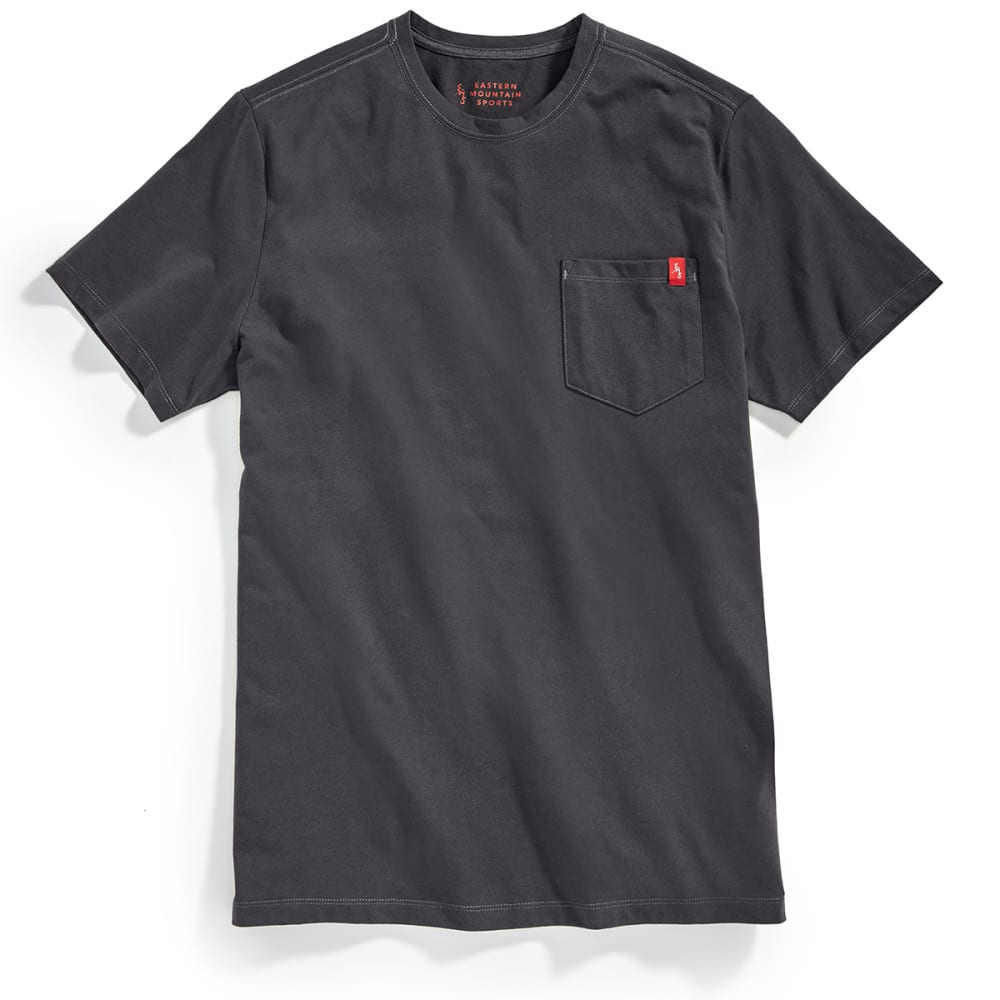 Ems(R) Men's Simple Pocket Short-Sleeve Tee - Black, M