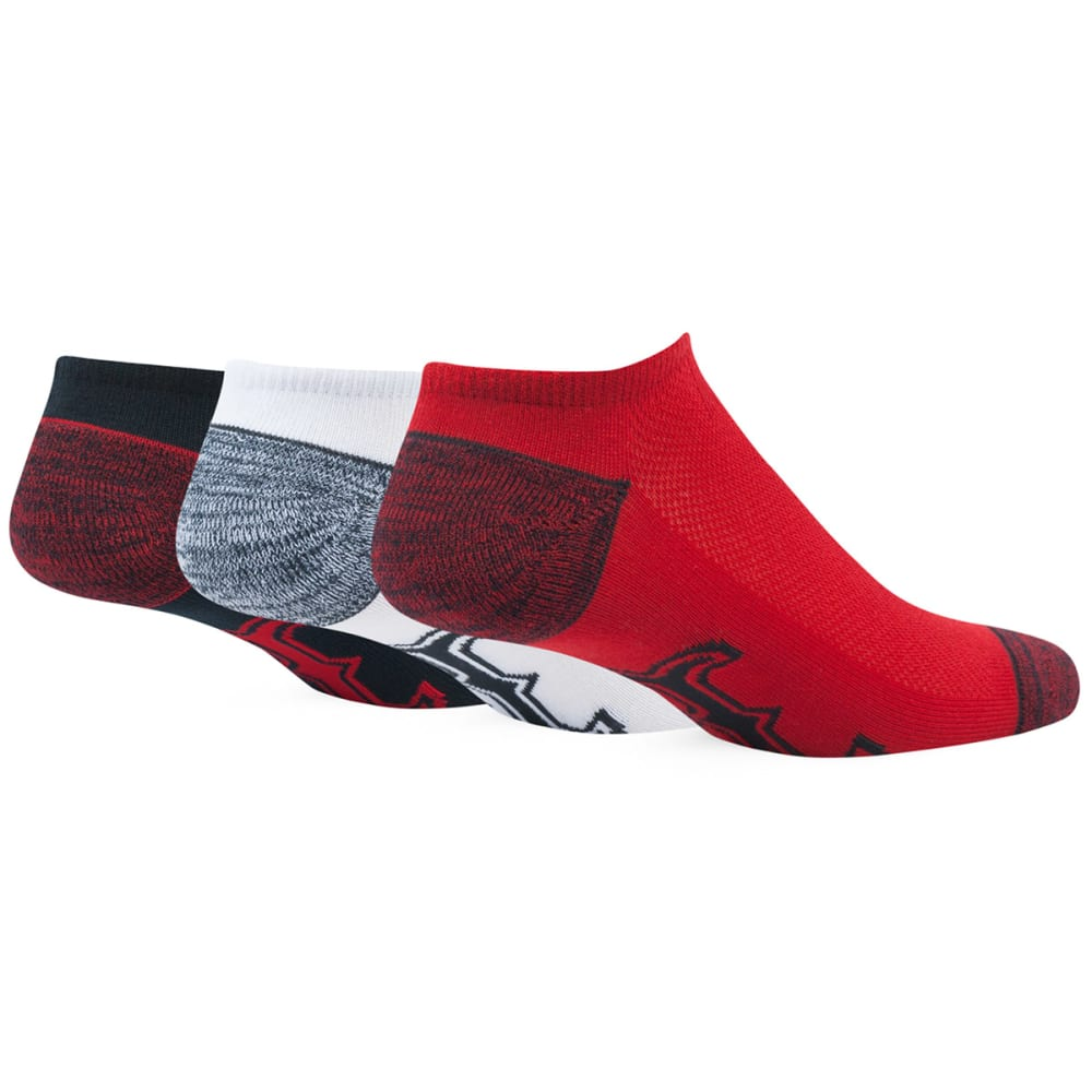 BOSTON RED SOX Women's '47 Blade No-Show Socks, 3 Pack - RED