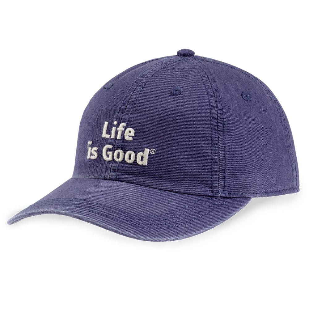 LIFE IS GOOD Women's Branded Chill Cap - DARKEST BLUE