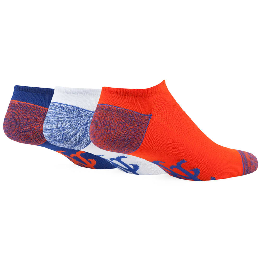NEW YORK METS Women's '47 Blade No-Show Socks, 3 Pack - ROYAL BLUE