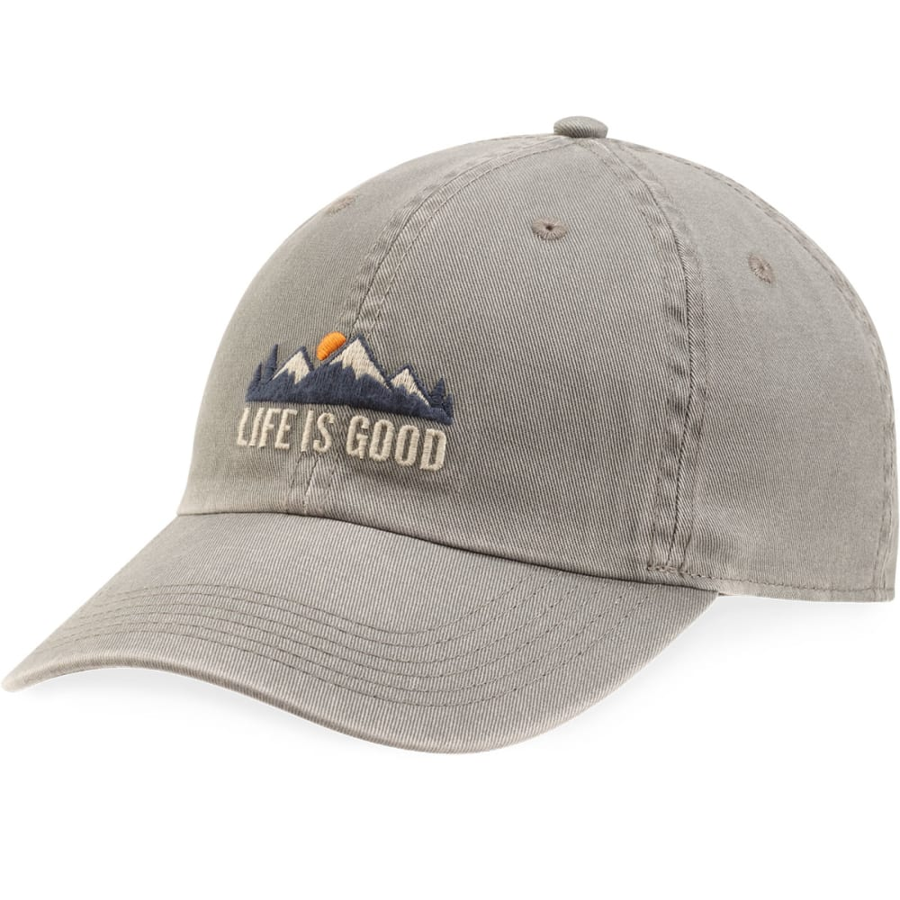 LIFE IS GOOD Men's Mountains Chill Cap - SLATE GRAY