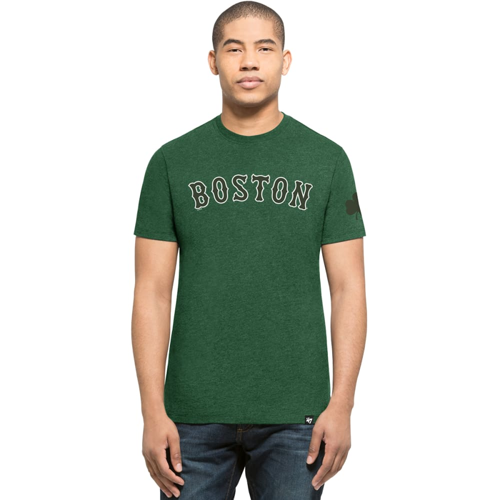 BOSTON RED SOX Men's '47 Shamrock Short-Sleeve Tee - GREEN