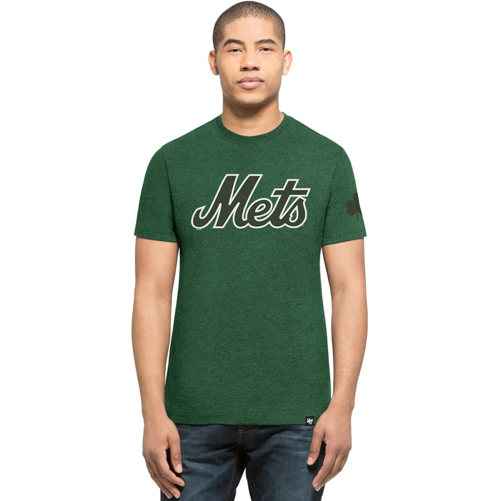 NEW YORK METS Men's '47 Shamrock Short-Sleeve Tee - GREEN