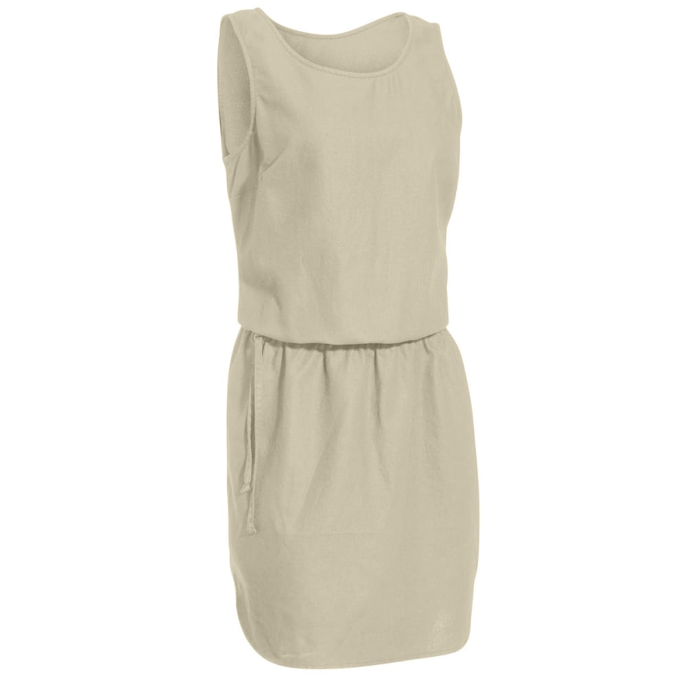 EMS Women's Cambric Linen Dress - FOSSIL