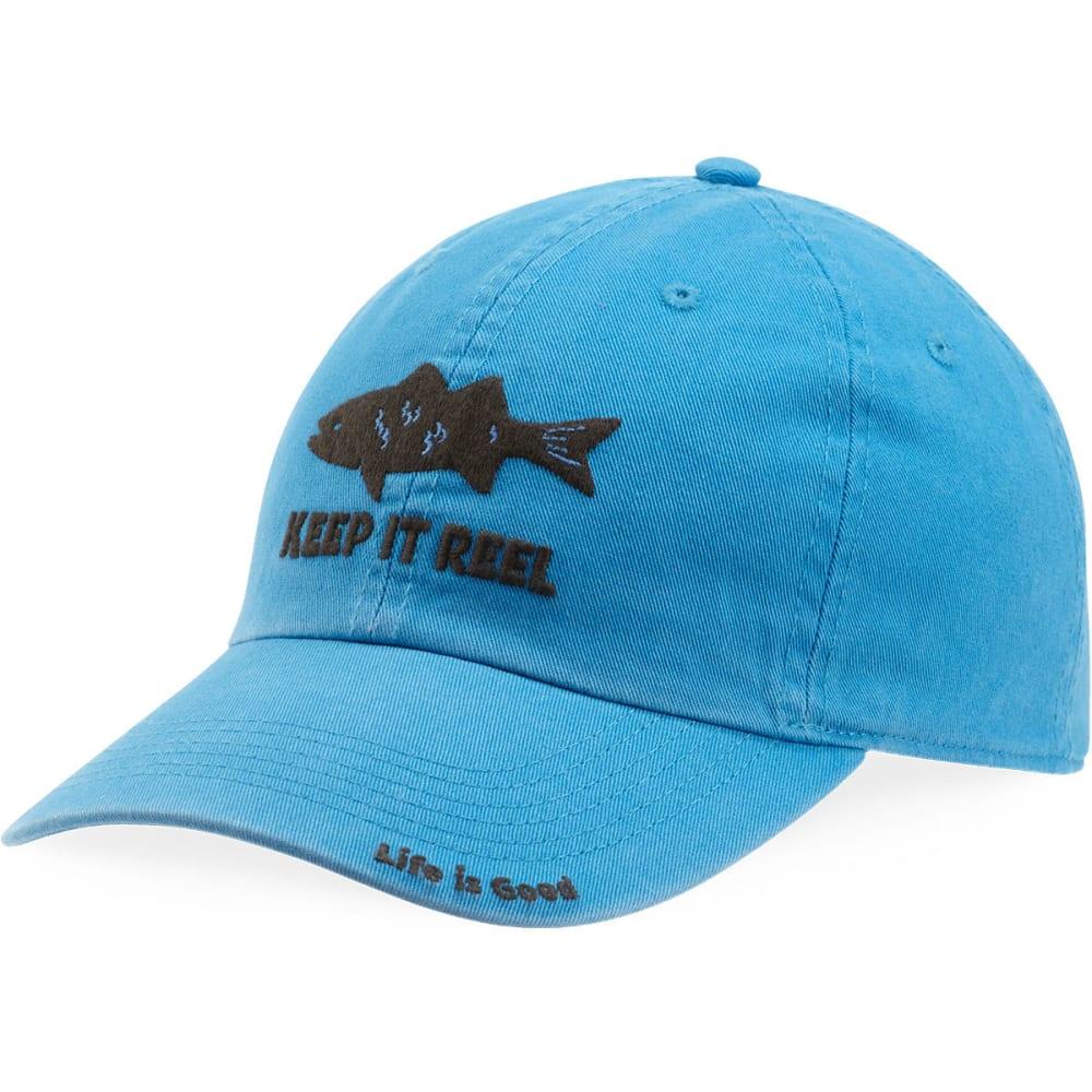 LIFE IS GOOD Keep It Reel Fish Chill Cap - MARINA BLUE