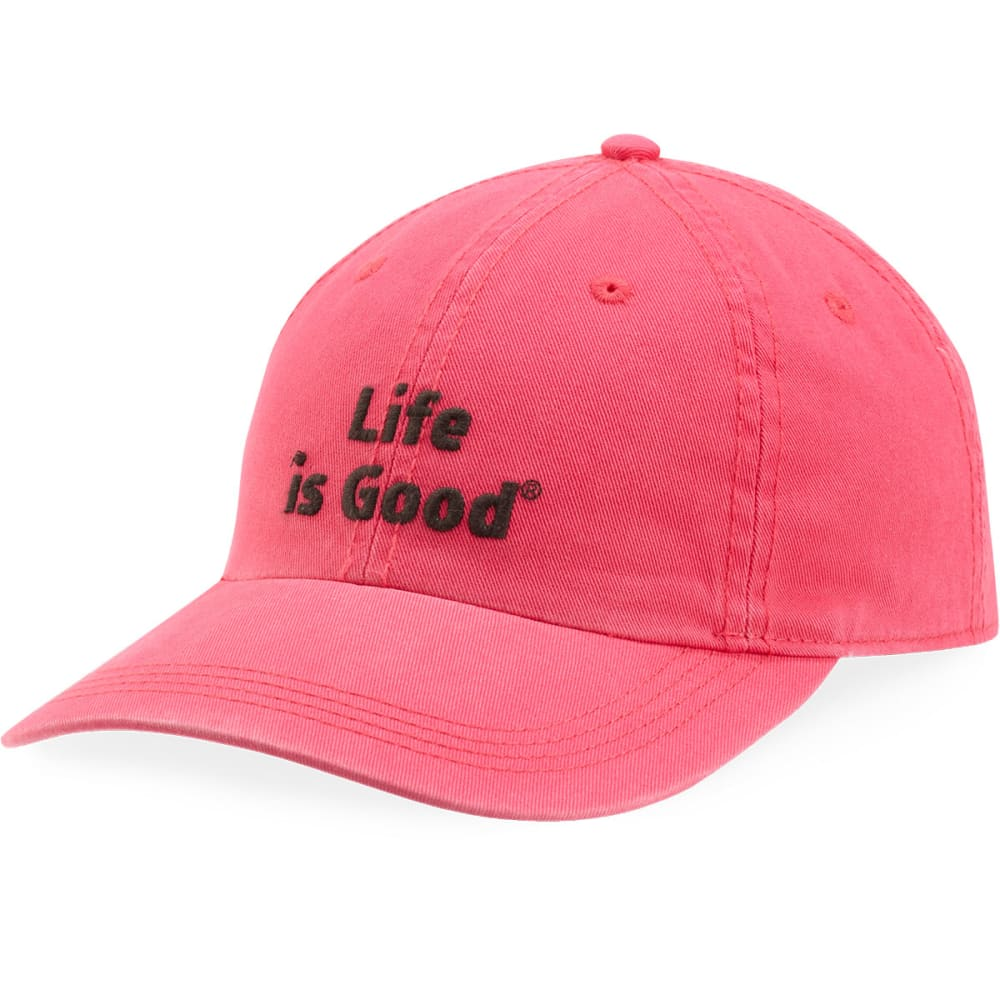 LIFE IS GOOD Women's Chill Cap - POP PINK