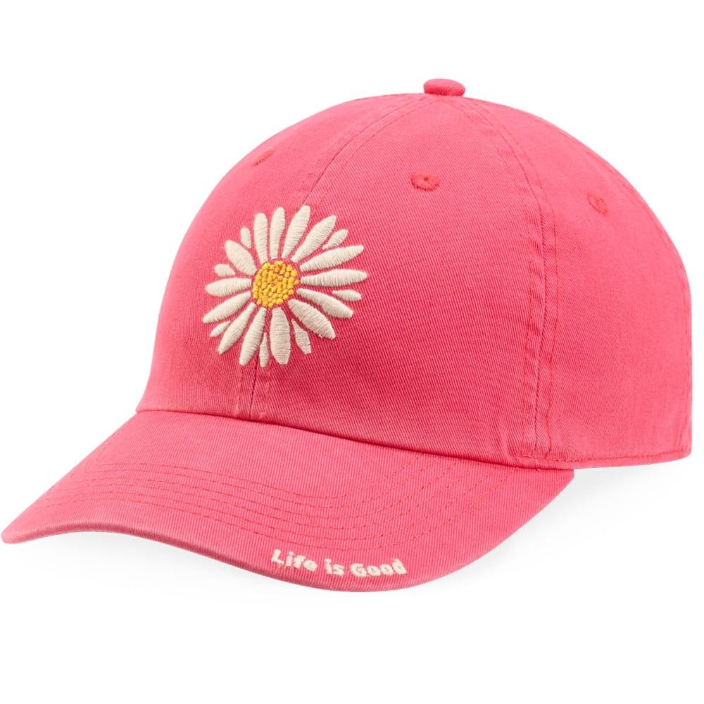 LIFE IS GOOD Women's Daisy Chill Cap - POP PINK